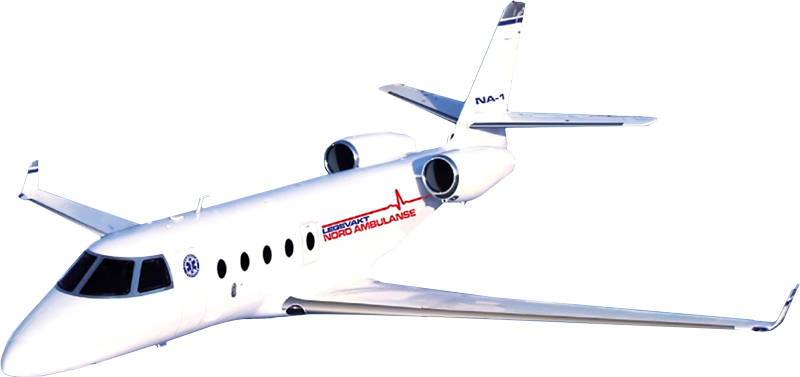 We provide medical transportation in the country and abroad